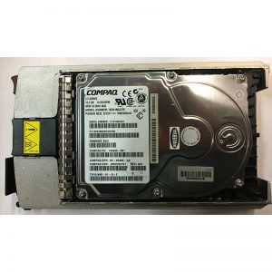 "142689-001 - Compaq 18GB 10K  RPM SCSI 3.5"" HDD 80 pin w/ tray"