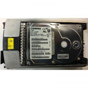"BD018635CC - Compaq 18GB 10K  RPM SCSI 3.5"" HDD 80 pin w/ tray"