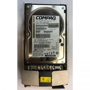 "180726-002 - Compaq 18GB 10K  RPM SCSI 3.5"" HDD 80 pin, w/ tray, BD018635C4 version"