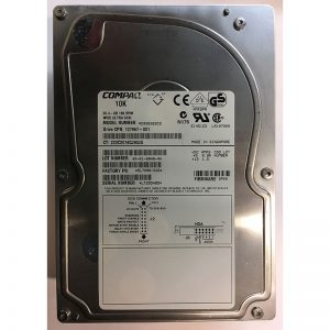 "127967-001 - Compaq 36GB 10K  RPM SCSI 3.5"" HDD 80 pin"