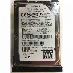 "0A27472 - Hitachi 40GB 5400 RPM SATA 2.5"" HDD"