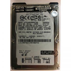 "08K0846 - Hitachi 40GB 5400 RPM IDE 2.5"" HDD"