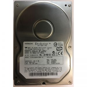 "IC35L040AVVN07-0 - Hitachi 40GB 7200 RPM IDE 3.5"" HDD"
