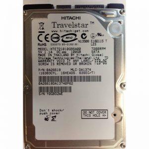 "0A26618 - Hitachi 100GB 7200 RPM SATA 2.5"" HDD"
