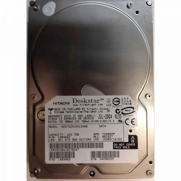 """14R9463 - Hitachi 164GB 7200 RPM SATA 3.5"""" HDD"""