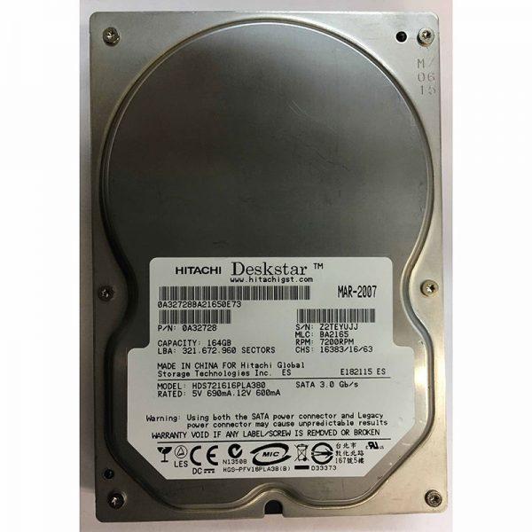 "0A32728 - Hitachi 160GB 7200 RPM SATA 3.5"" HDD"