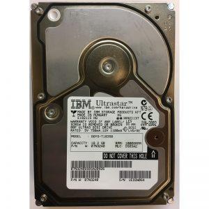 "07N3240 - IBM 18GB 10K  RPM SCSI 3.5"" HDD U160 80 pin"