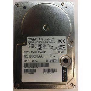 """08K0382 - Hitachi 36GB 10K  RPM SCSI 3.5"""" HDD U320 80 pin"""