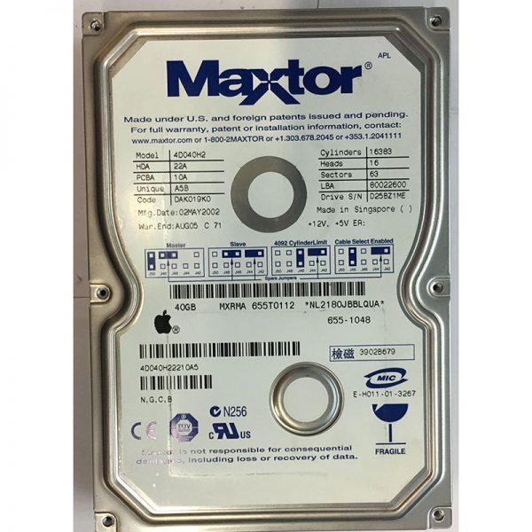 """4D040H22210A5 - Maxtor 40GB 5400 RPM IDE  3.5"""" HDD"""