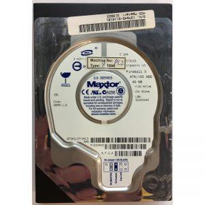"""2F040L07106L3 - Maxtor 40GB 5400 RPM IDE 3.5"""" HDD"""