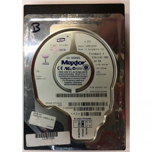"2F040L0710634 - Maxtor 40GB 7200 RPM IDE 3.5"" HDD"