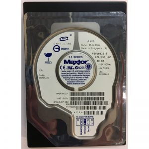 "2F040L0710641 - Maxtor 40GB 5400 RPM IDE 3.5"" HDD"