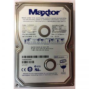 """4D060H3 - Maxtor 60GB 5400 RPM IDE 3.5"""" HDD"""