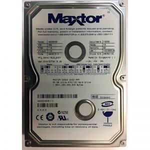 """4W080H6061111 - Maxtor 80GB 5400 RPM IDE 3.5"""" HDD"""