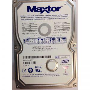 """4G160J80807D1 - Maxtor 160GB 5400 RPM IDE 3.5"""" HDD"""
