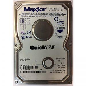 """4R160L00454P1 - Maxtor 160GB 5400 RPM IDE 3.5"""" HDD"""