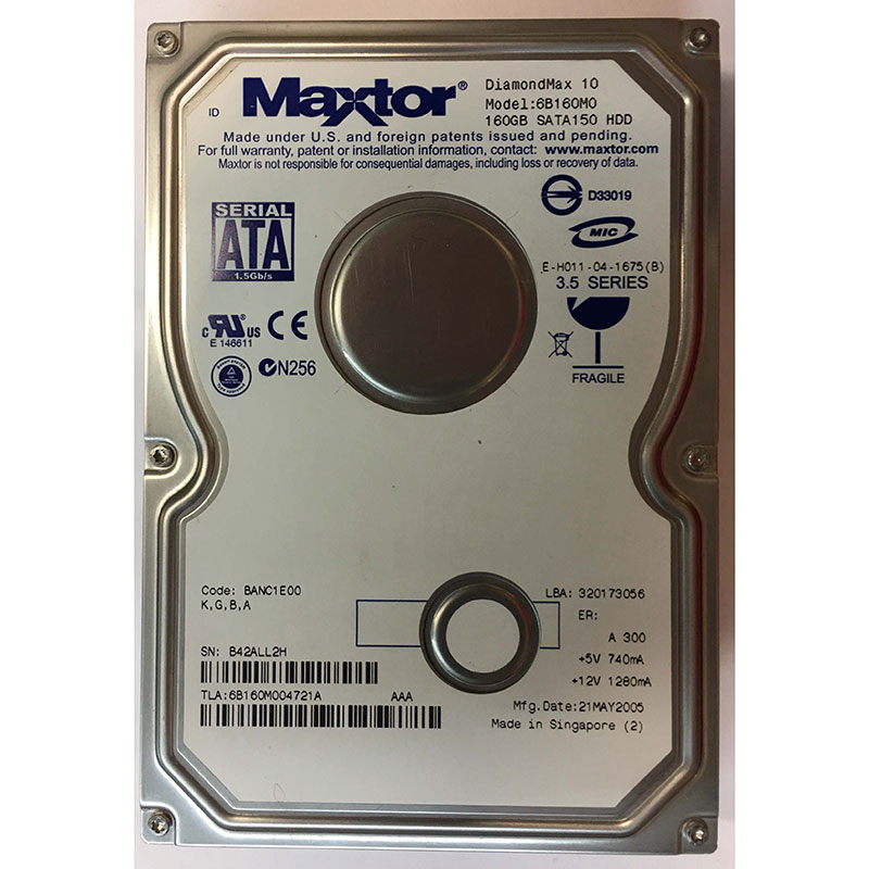 MAXTOR 6B160M0 WINDOWS 8 DRIVER DOWNLOAD
