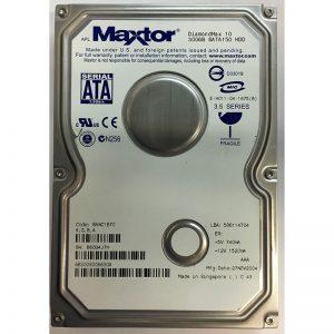 """6B300S006630A - Maxtor 300GB 7200 RPM SATA 3.5"""" HDD"""