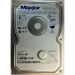 """5A300J0  - Maxtor 300GB 5400 RPM IDE 3.5"""" HDD"""