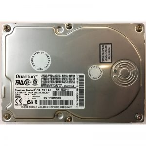 "CR13A2F1 - Quantum 13GB 5400 RPM IDE 3.5"" HDD"