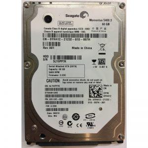 "YH412 - Dell 60GB 5400 RPM SATA 2.5"" HDD"