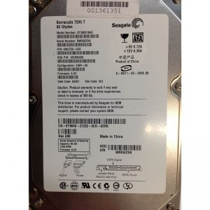 "Y9646 - Dell 80GB 7200 RPM SATA 3.5"" HDD Seagate 9W2732-033 version"