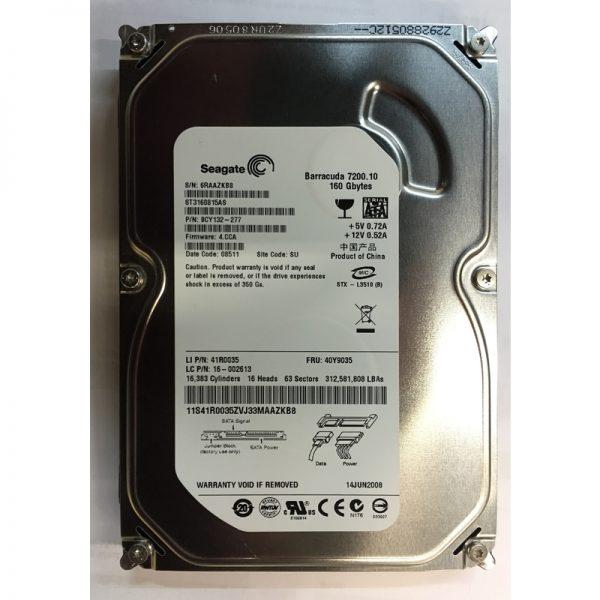 """ST3160815AS - Seagate 160GB 7200 RPM SATA 3.5"""" HDD"""