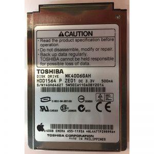 """HDD1564 - Toshiba 40GB 5400 RPM IDE 2.5"""" HDD"""