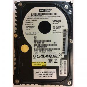 """8007420300 - NEC 74GB 10K  RPM SATA 3.5"""" HDD"""
