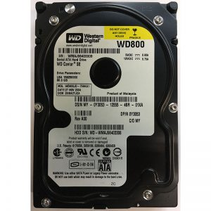 "Y3053 - Dell 80GB 7200 RPM SATA 3.5"" HDD"