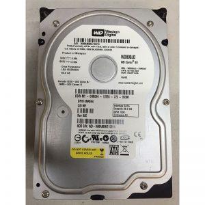 """WD800JD-75MSA3 - Western Digital 80GB 7200 RPM SATA 3.5"""" HDD"""