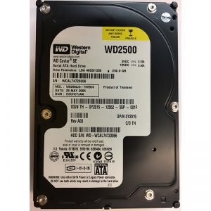 "Y2015 - Dell 250GB 7200 RPM SATA 3.5"" HDD"