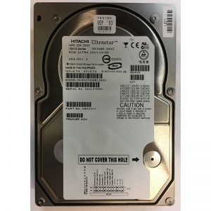 """08K2404 - Hitachi 36GB 15K  RPM SCSI 3.5"""" HDD U320 80 pin"""