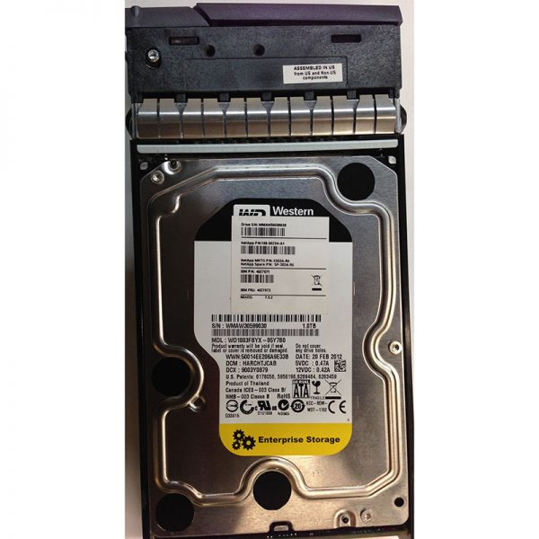 """WD1003FBYX-05Y7B0 - Western Digital 1TB 7200 RPM SATA 3.5"""" HDD w/ tray for DS4243"""