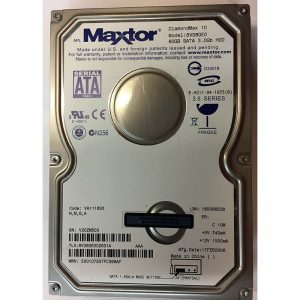 "6V080E002631A - Maxtor 80GB 7200 RPM SATA 3.5"" HDD"