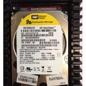 """508176-001 - HP 160GB 10K  RPM SATA 3.5"""" HDD"""