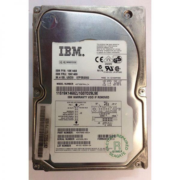 """9N7006-055 - Seagate 36GB 10K  RPM SCSI 3.5"""" HDD U160 80 pin"""