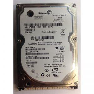 """P9003 - Dell 40GB 5400 RPM IDE 2.5"""" HDD"""