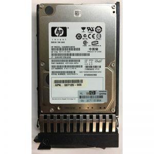 "9FK066-085 - HP 300GB 10K  RPM SAS 2.5"" HDD dual port w/ tray"
