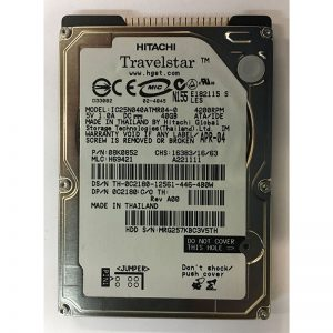 "08K0852 - Hitachi 40GB 4200 RPM IDE 2.5"" HDD"