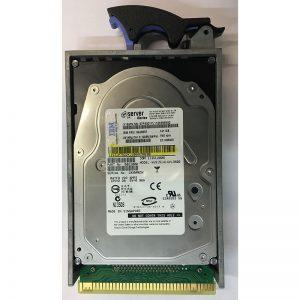 """0B21000 - Hitachi 141GB 15K  RPM SCSI 3.5"""" HDD U320 w/ interposer"""