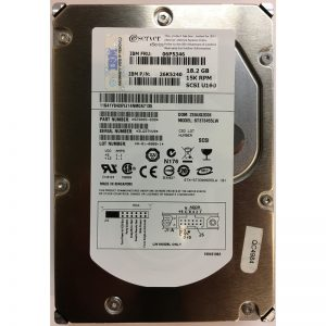 "06P5346 - IBM 18GB 15K  RPM SCSI 3.5"" HDD U160 68 pin"