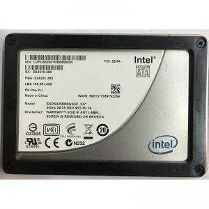 """SSDSA2M080G2GC - Intel 80GB SSD SATA 2.5"""" HDD"""