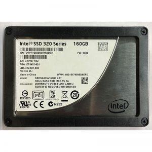 """SSDSA2CW160G3 - Intel 160GB SSD SATA 2.5"""" HDD"""
