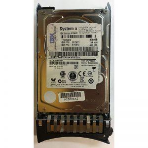 """MK3001GRRB - IBM 300GB 15K  RPM SAS 2.5"""" HDD w/ IBM tray"""