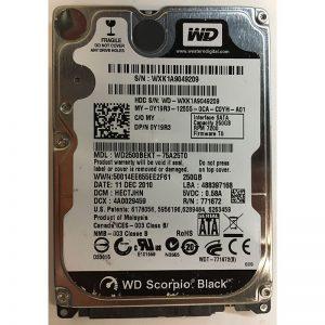 """Y19R3 - Dell 250GB 7200 RPM SATA 3.5"""" HDD"""