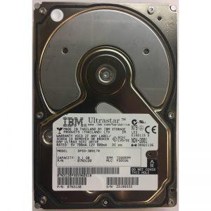 "07N3120 - IBM 9.1GB 7200 RPM SCSI 3.5"" HDD 68 pin"