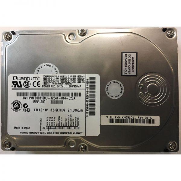 """0003160U - Dell 9GB 7200 RPM SCSI 3.5"""" HDD U160 68 pin"""