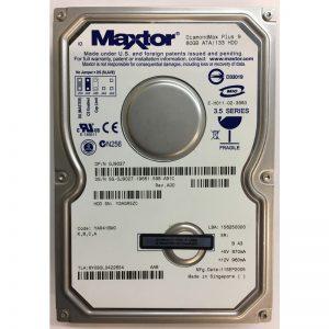 """6Y080L0422654 - Maxtor 80GB 7200 RPM IDE 3.5"""" HDD"""