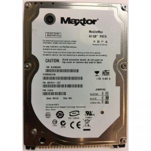 "STM940215A - Maxtor 40GB 5400 RPM IDE 2.5"" HDD"
